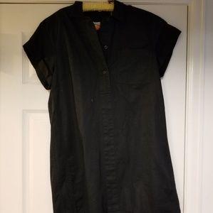 Black tunic/dress J. Crew size L